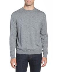 Nordstrom Men's Shop Cotton Cashmere Crewneck Sweater