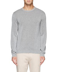 Incotex Crew Neck Cotton Sweater