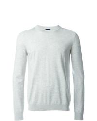 Lanvin Neck Fashion Grey By Sweaters Men's Crew TZn7fqWwX