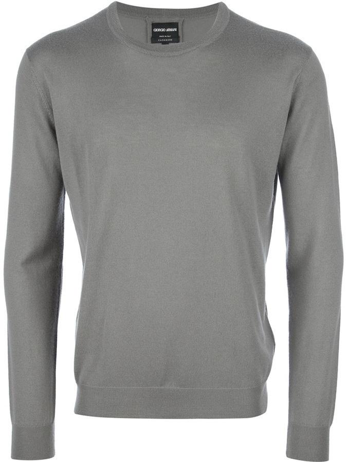Giorgio Armani Crew Neck Sweater