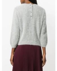 Prada Cropped Sleeve Jumper