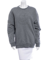 3.1 Phillip Lim Embroidered Crew Neck Sweater