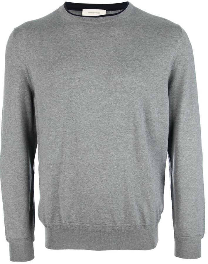 Ermenegildo Zegna Crew Neck Sweater
