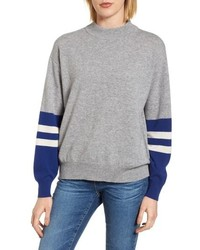 Velvet by Graham & Spencer Graham Spencer Colorblock Cashmere Sweater