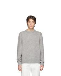 Acne Studios Grey Cashmere Kl Sweater