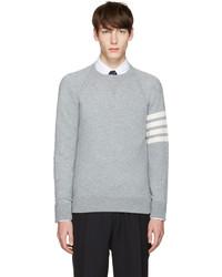 Grey cashmere pullover medium 1125572