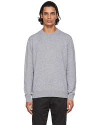 Agnona Grey Cashmere Seamless Sweater