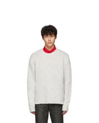 Helmut Lang Grey Ghost Marl Sweater