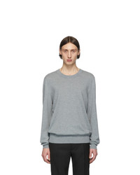 Maison Margiela Grey Patch Sweater