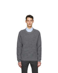 Tiger of Sweden Grey Puffin Sweater