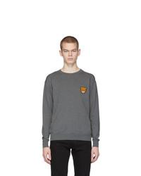 Moschino Grey Teddy Sweater