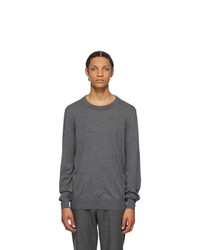 Maison Margiela Grey Wool 14 Gauge Sweater