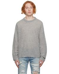 John Elliott Grey Wool Powder Sweater