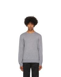 Z Zegna Grey Wool Sweater