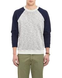Barneys New York Gunner Sweater Grey
