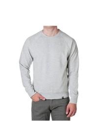 Jordan Craig Cotton Blend Pocket Sweatshirt Heather Grey Size Large