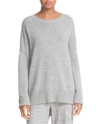 Karenia step hem cashmere sweater medium 785476