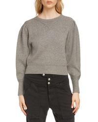 Isabel Marant Etoile Kelaya Puff Sleeve Sweater