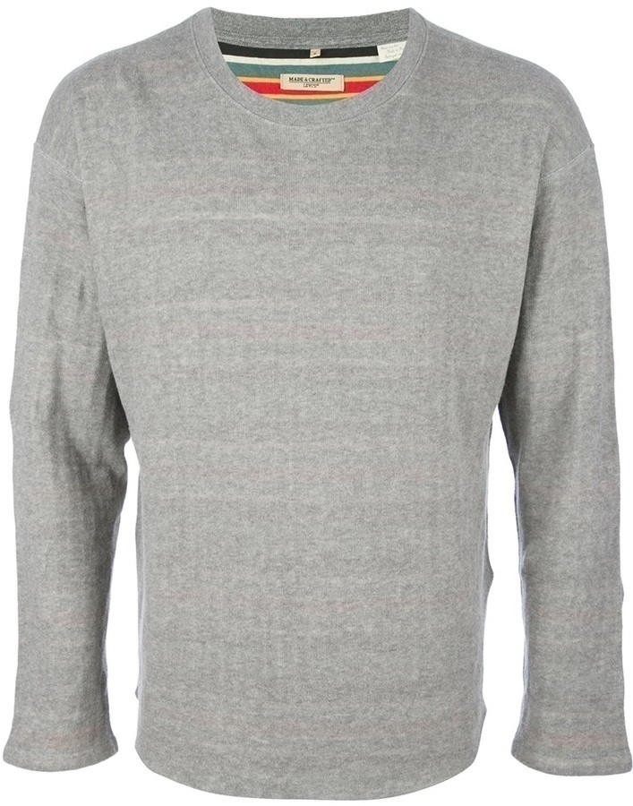 Levi's Made Crafted Round Neck Sweater
