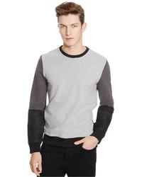 Kenneth Cole Reaction Long Sleeve Colorblocked Sweatshirt