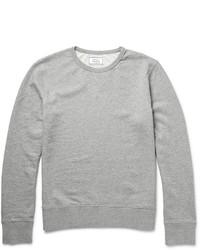 Officine Generale Loopback Cotton Jersey Sweatshirt