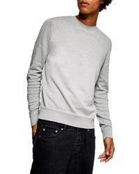 Topman Marl Crewneck Sweater