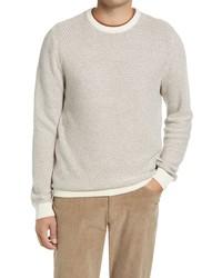 Nordstrom Mini Pattern Crewneck Sweater