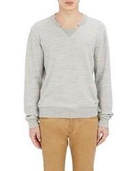 Maison Margiela Mlange French Terry Sweatshirt Grey