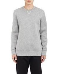 Helmut Lang Neoprene Sweatshirt Grey
