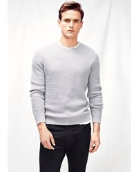 Mango Outlet Wool Blend Sweater