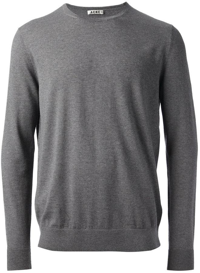 Acne Studios Round Neck Wool Sweater