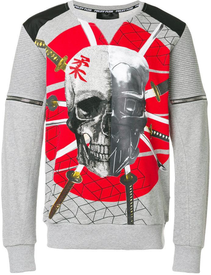 8ad67bb37da $830, Philipp Plein Samurai Sweatshirt