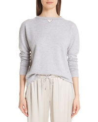 Fabiana Filippi Satin Cashmere Sweater