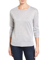 Halogen Seam Detail Highlow Sweater