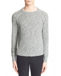 Todd Snyder Seed Stitch Cotton Cashmere Pullover