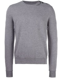 Maison Margiela Slit Detail Crew Neck Jumper