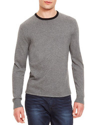 Kenneth Cole New York Solid Tipped Sweater