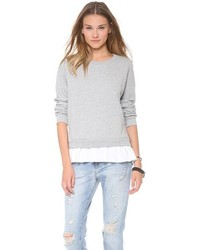 Too ruffled sweatshirt medium 166774