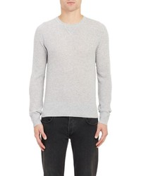Todd Snyder Waffle Knit Sweater Grey Size S