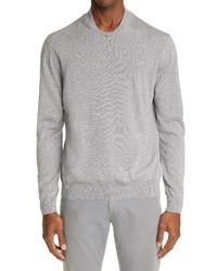 Canali Wool Varsity Sweater
