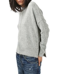 Zip side sweater medium 779278
