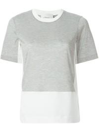 3.1 Phillip Lim Panelled T Shirt