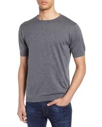 John Smedley Belden Solid T Shirt