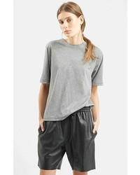 Topshop Boutique Oversize Elbow Sleeve Tee