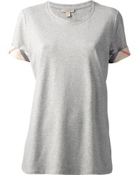Burberry House Check Cuffs T Shirt