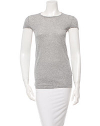 Isabel Marant Cap Sleeve Crew Neck T Shirt