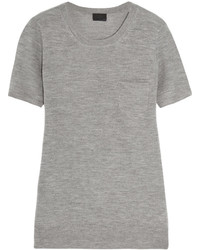 J.Crew Cashmere T Shirt Gray