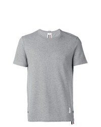 Thom Browne Center Back Stripe Relaxed Fit Short Sleeve Pique Tee