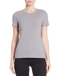 Lord & Taylor Cotton Blend Crewneck Tee