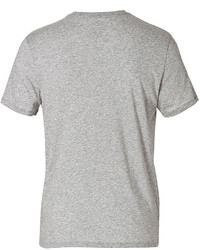 Vince Cotton Crew Neck T Shirt In Grey